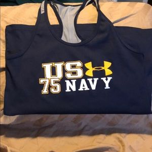 Under Armour Tops - Under Armour US Navy tank